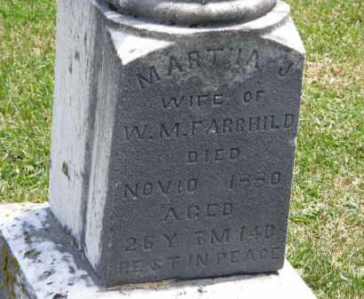 FAIRCHILD, MARTHA J. - Marion County, Ohio | MARTHA J. FAIRCHILD - Ohio Gravestone Photos