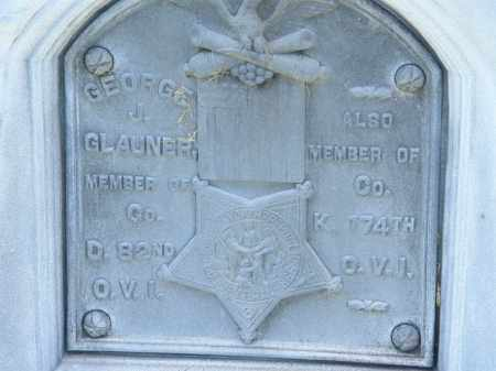 GLAUNER, GEORGE J. - Marion County, Ohio   GEORGE J. GLAUNER - Ohio Gravestone Photos