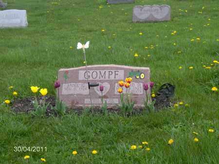 GOMPF, EDWARD DAVID - Marion County, Ohio | EDWARD DAVID GOMPF - Ohio Gravestone Photos
