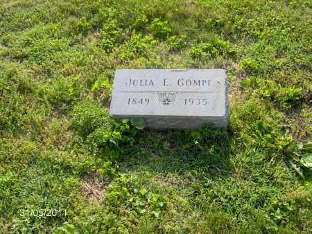 GOMPF, JULIA E - Marion County, Ohio | JULIA E GOMPF - Ohio Gravestone Photos