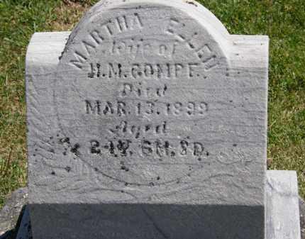 GOMPF, MARTHA ELLEN - Marion County, Ohio   MARTHA ELLEN GOMPF - Ohio Gravestone Photos