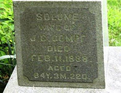 GOMPF, SOLOME - Marion County, Ohio | SOLOME GOMPF - Ohio Gravestone Photos