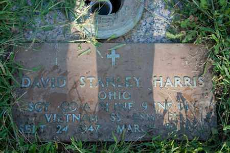HARRIS, DAVID STANLEY - Marion County, Ohio | DAVID STANLEY HARRIS - Ohio Gravestone Photos