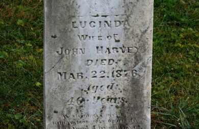HARVEY, LUCINDA - Marion County, Ohio | LUCINDA HARVEY - Ohio Gravestone Photos