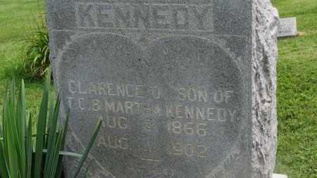 KENNEDY, CLARENCE O. - Marion County, Ohio   CLARENCE O. KENNEDY - Ohio Gravestone Photos