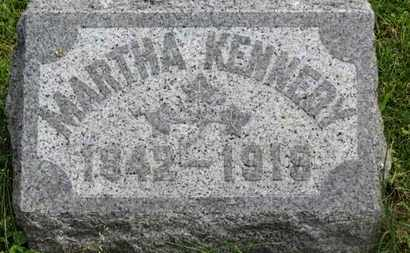 KENNEDY, MARTHA - Marion County, Ohio | MARTHA KENNEDY - Ohio Gravestone Photos