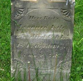 KILE, LEONARD - Marion County, Ohio   LEONARD KILE - Ohio Gravestone Photos