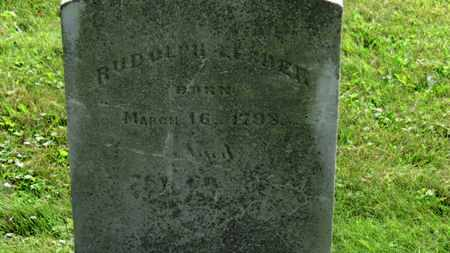 LESHER, RUDOLPH - Marion County, Ohio   RUDOLPH LESHER - Ohio Gravestone Photos