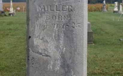 MILLER, G.W. - Marion County, Ohio   G.W. MILLER - Ohio Gravestone Photos
