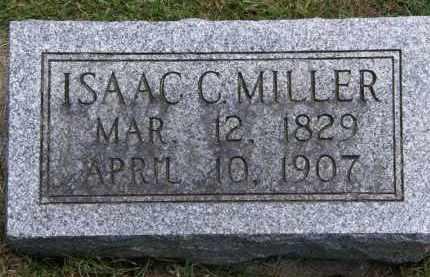 MILLER, ISAAC C. - Marion County, Ohio | ISAAC C. MILLER - Ohio Gravestone Photos