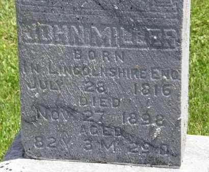MILLER, JOHN - Marion County, Ohio   JOHN MILLER - Ohio Gravestone Photos
