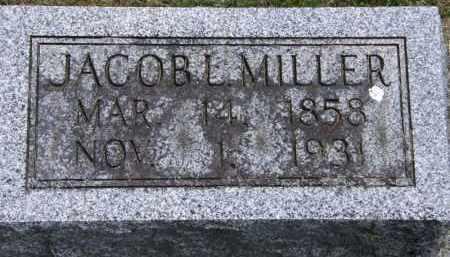 MILLER, JACOB L. - Marion County, Ohio | JACOB L. MILLER - Ohio Gravestone Photos