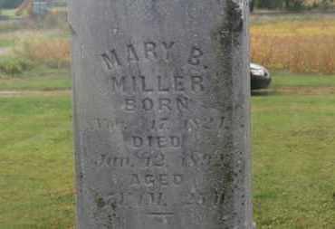 MILLER, MARY B. - Marion County, Ohio | MARY B. MILLER - Ohio Gravestone Photos