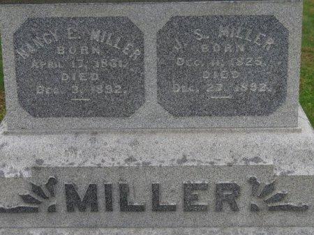 MILLER, NANCY E. - Marion County, Ohio   NANCY E. MILLER - Ohio Gravestone Photos