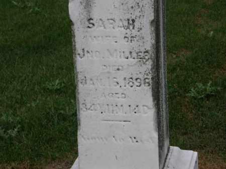 MILLER, JNO. - Marion County, Ohio | JNO. MILLER - Ohio Gravestone Photos