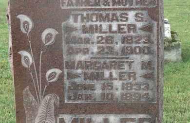 MILLER, THOMAS S. - Marion County, Ohio | THOMAS S. MILLER - Ohio Gravestone Photos