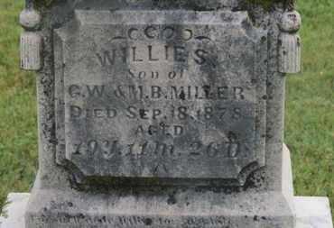 MILLER, WILLIE S. - Marion County, Ohio | WILLIE S. MILLER - Ohio Gravestone Photos