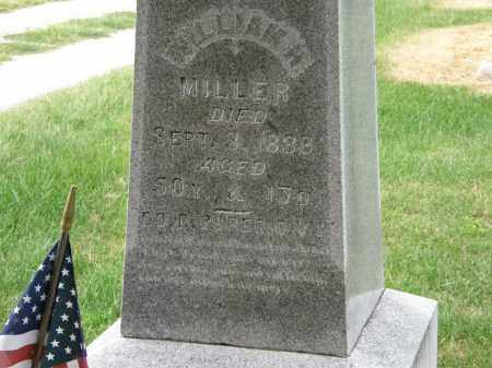 MILLER, WILLIAM H - Marion County, Ohio | WILLIAM H MILLER - Ohio Gravestone Photos
