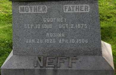 NEFF, GODFREY - Marion County, Ohio | GODFREY NEFF - Ohio Gravestone Photos