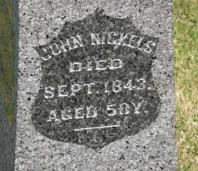 NICKELS, JOHN - Marion County, Ohio | JOHN NICKELS - Ohio Gravestone Photos
