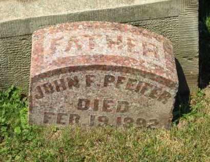 PFEIFER, JOHN F. - Marion County, Ohio | JOHN F. PFEIFER - Ohio Gravestone Photos