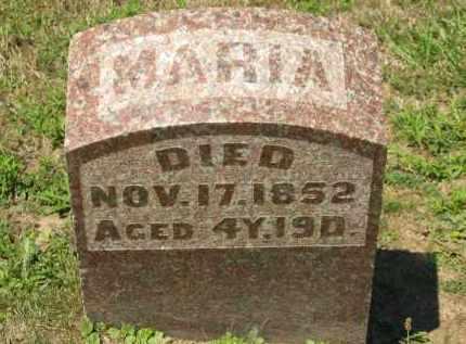 PFEIFER, MARIA - Marion County, Ohio   MARIA PFEIFER - Ohio Gravestone Photos