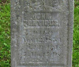 PONTIOUS, JOHN - Marion County, Ohio | JOHN PONTIOUS - Ohio Gravestone Photos