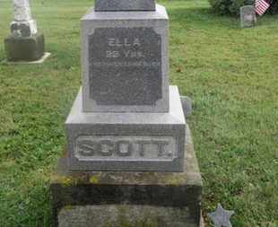 SCOTT, ELLA - Marion County, Ohio | ELLA SCOTT - Ohio Gravestone Photos