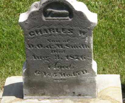 SMITH, CHARLES W. - Marion County, Ohio | CHARLES W. SMITH - Ohio Gravestone Photos