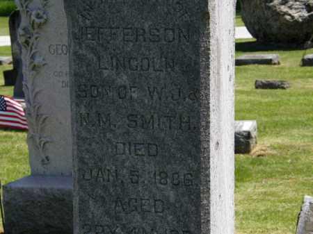 SMITH, JEFFERSON LINCOLN - Marion County, Ohio | JEFFERSON LINCOLN SMITH - Ohio Gravestone Photos