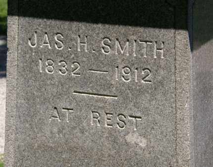 SMITH, JAS. H. - Marion County, Ohio | JAS. H. SMITH - Ohio Gravestone Photos