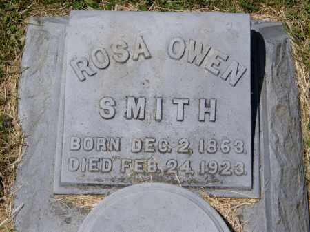 SMITH, ROSA OWEN - Marion County, Ohio | ROSA OWEN SMITH - Ohio Gravestone Photos