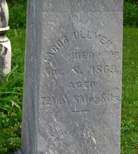 ULLMER, JACOB - Marion County, Ohio | JACOB ULLMER - Ohio Gravestone Photos