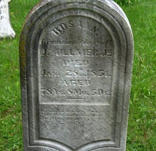 ULLMER, ROSANNA - Marion County, Ohio   ROSANNA ULLMER - Ohio Gravestone Photos