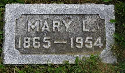 WEIDEMAIER, MARY L. - Marion County, Ohio | MARY L. WEIDEMAIER - Ohio Gravestone Photos