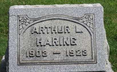 HARING, ARTHUR L. - Medina County, Ohio | ARTHUR L. HARING - Ohio Gravestone Photos