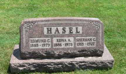 HASEL, SHERMAN G. - Medina County, Ohio | SHERMAN G. HASEL - Ohio Gravestone Photos