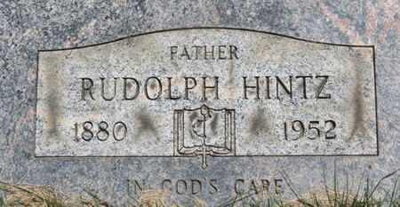 HINTZ, RUDOLPH - Medina County, Ohio | RUDOLPH HINTZ - Ohio Gravestone Photos