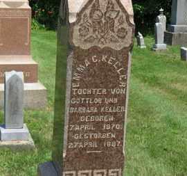 KELLER, EMMA C. - Medina County, Ohio   EMMA C. KELLER - Ohio Gravestone Photos