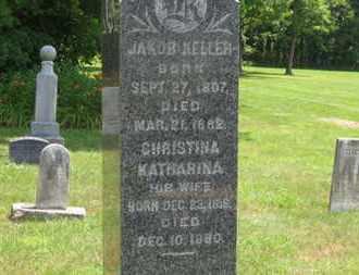 KELLER, CHRISTINA KATHARINA - Medina County, Ohio | CHRISTINA KATHARINA KELLER - Ohio Gravestone Photos