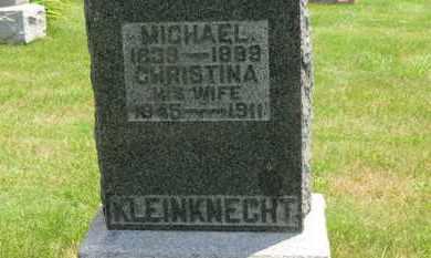 KLEINKNECHT, MICHAEL - Medina County, Ohio | MICHAEL KLEINKNECHT - Ohio Gravestone Photos