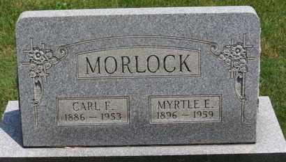 MORLOCK, MYRTLE E. - Medina County, Ohio   MYRTLE E. MORLOCK - Ohio Gravestone Photos