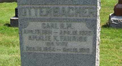 OTTERBACHER, CARL H. M. - Medina County, Ohio | CARL H. M. OTTERBACHER - Ohio Gravestone Photos