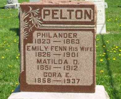 PELTON, MATILDA D. - Medina County, Ohio | MATILDA D. PELTON - Ohio Gravestone Photos