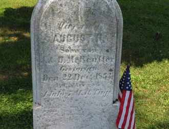 REUTTER, AUGUST - Medina County, Ohio | AUGUST REUTTER - Ohio Gravestone Photos