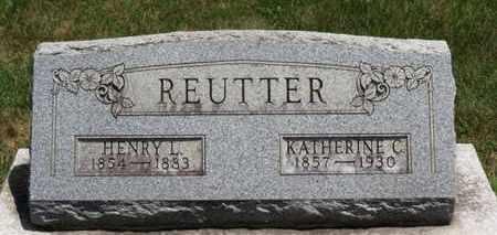 REUTTER, KATHERINE C. - Medina County, Ohio | KATHERINE C. REUTTER - Ohio Gravestone Photos