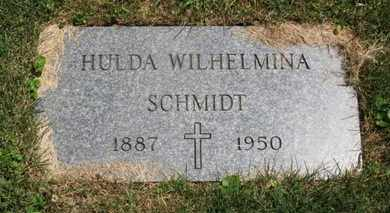 SCHMIDT, HULDA WILHELMINA - Medina County, Ohio   HULDA WILHELMINA SCHMIDT - Ohio Gravestone Photos