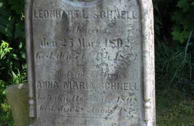 SCHNELL, ANNA MARIA - Medina County, Ohio | ANNA MARIA SCHNELL - Ohio Gravestone Photos