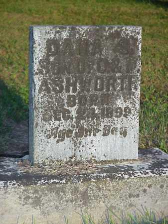ASHWORTH, DANA S. - Meigs County, Ohio   DANA S. ASHWORTH - Ohio Gravestone Photos