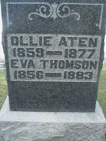 THOMSON, EVA - Meigs County, Ohio | EVA THOMSON - Ohio Gravestone Photos